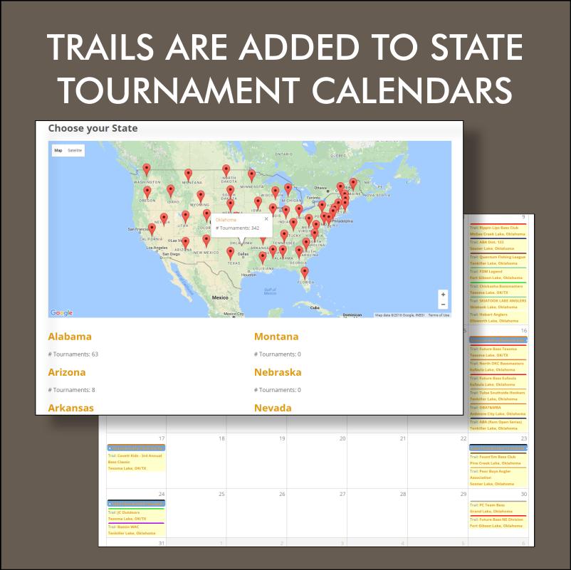 Angler Hub Tournament Trails