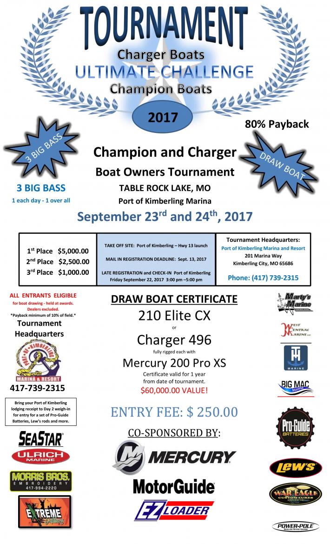 ULTIMATE CHALLENGE -Tournament Flyer