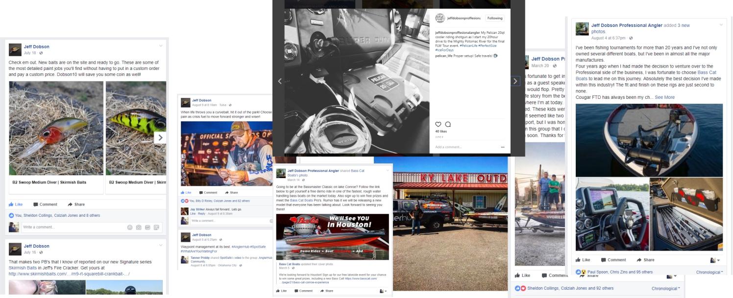 Jeff Dobson - Social Media