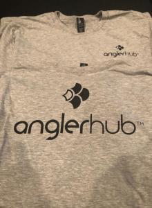 Gray Angler Hub Long Sleeve Tee